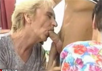 Omas letzter Cumshot Rentnersex Flotter Dreier