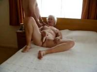 Granny beim Sex beobachtet