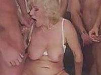Granny Gangbang Cumhot Porno