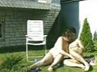 Outdoor Threesome Rentnerporno