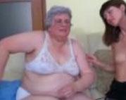 Alte Frauen mit dicken, fetten Fotzen