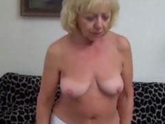 Oma will mal ein Pornostar sein