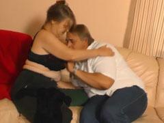 Sexy Oma macht den Opa glücklich