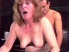 Analsex im Oma Vintage Porno