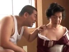 Asia Oma Porno