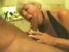 Geiler Oma Blowjob Porno