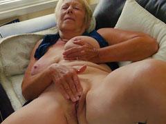 Ein alter Orgasmus für die Oma