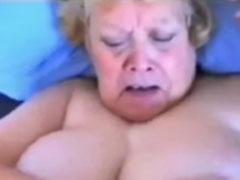 Geiler Oma Cumshotporno