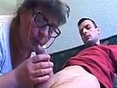 Heisser neuer Oma Blasen Porno