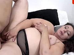 Sex mit fetten Omas ist doch viel geiler