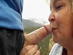 Heisse neue Oma Blowjob Compilation